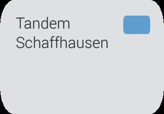 Tandem Programm Schaffhausen